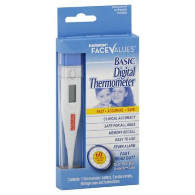 Harmon Face Values Digital Thermometer
