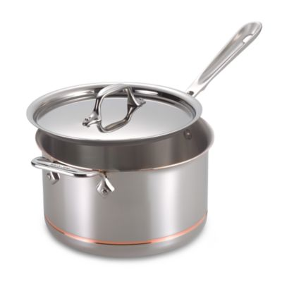 All-Clad Copper Core 4-Quart Covered Saucepan