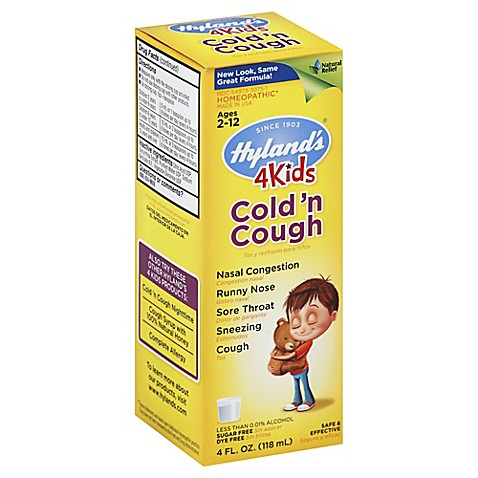 Hyland S 174 4 Kids 4 Oz Cold N Cough Syrup Www
