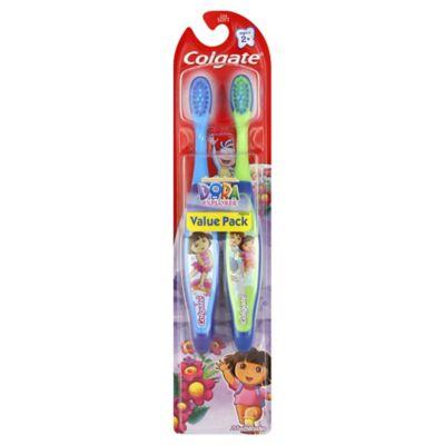 Colgate® Dora the Explorer Extra Soft Toothbrush (2-Pack)