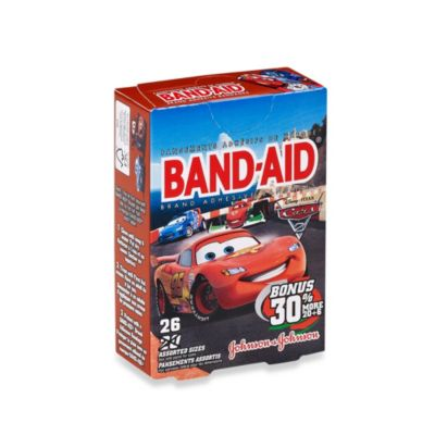 Johnson & Johnson® Band-Aid® 26-Count Disney Cars Adhesive Bandages