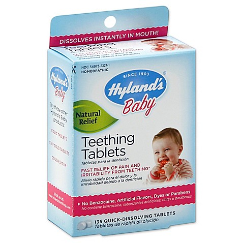 Buy Hyland S 174 Baby 135 Count Teething Tablets From Bed