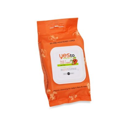 Yes to Baby Carrots™ 30-Count Face and Nose Wipes