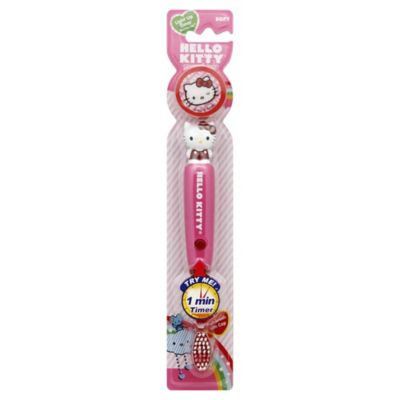 Sanrio Hello Kitty Flashing Toothbrush w/Cap