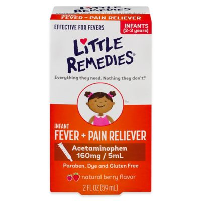 Little Remedies Pain Fever
