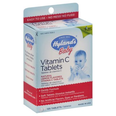 Hyland's® 125- Count Baby Vitamin C Tablets