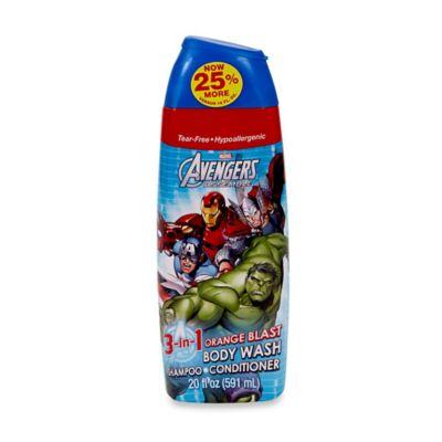 Disney Marvel Avengers 16 oz. 3-in-1 Body Wash, Shampoo & Conditioner