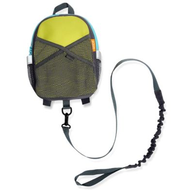 Brica® By-My-Side Safety Harness Backpack in Green