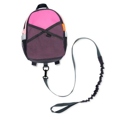 Brica® By-My-Side Safety Harness Backpack in Pink