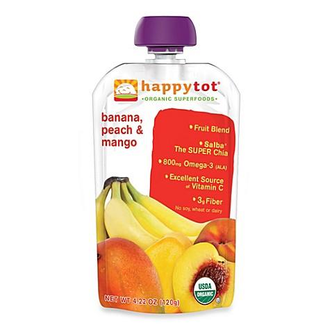Happy Tot Organic Baby Food Age