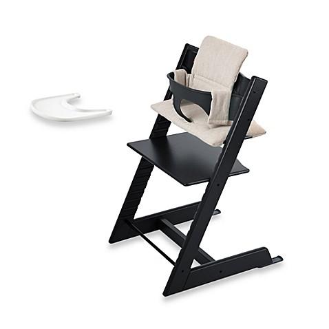 Stokke Tripp Trapp High Chair plete Bundle in Black