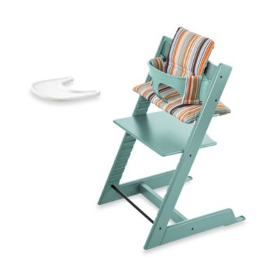 Stokke® Tripp Trapp® High Chair Complete Bundle in Aqua