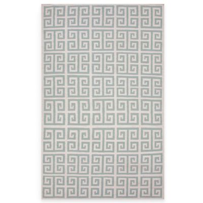 Jaipur Urban Bungalow Melina Rug in Light Turquoise