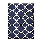 Jaipur Rugs Maroc Rafi Rug in Deep Navy/Antique White