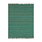 Jaipur Rugged Jute Rugs in Cool Aqua
