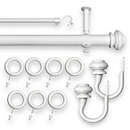 Revel Adjustable Window Curtain Rod Sets
