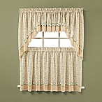 Ashley Buttercup Window Curtain Swag Valance