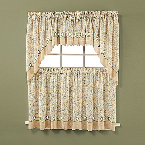Ashley Buttercup Window Curtain Valance