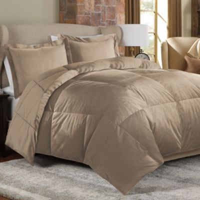 The Seasons Collection® Soft and Cozy Comforter Set in Mink