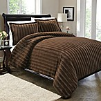 Sable Fur Duvet Cover Set in Brown