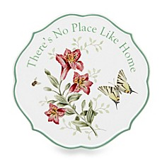Lenox® Butterfly Meadow® 6.75-Inch Sentiment Trivet No Place Like Home