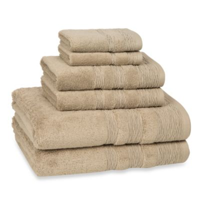 Kassatex St. Germain 6-Piece Towel Set in Ivory