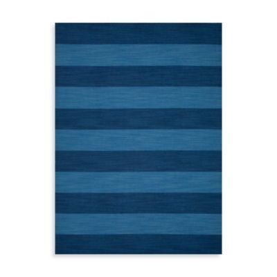 Jaipur Pura Vida Tierra 8-Foot x 10-Foot Rug in Evening Blue