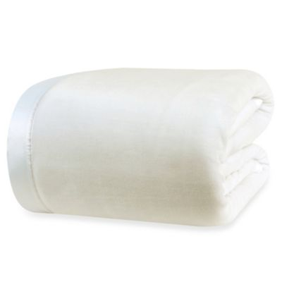 Berkshire Blanket® VelvetLoft™ Twin Blanket in Cream