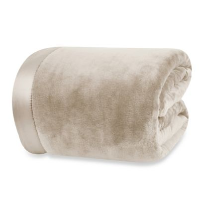 Berkshire Blanket® VelvetLoft™ King Blanket in Taupe
