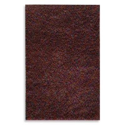 Rugs America Cambria Crosby 5-Foot x 8-Foot Rug in Red and Burgundy