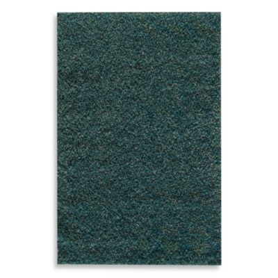 Blue and Teal Rug