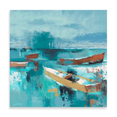 Fabrice de Villeneuve Studio Sailing Away Wall Art