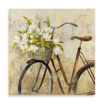 Fabrice de Villeneuve Studio Ride to Flower Market Wall Art