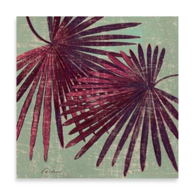 Fabrice de Villeneuve Studio Twin Palm Fronds Wall Art