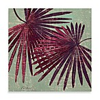 Twin Palm Fronds Wall Art