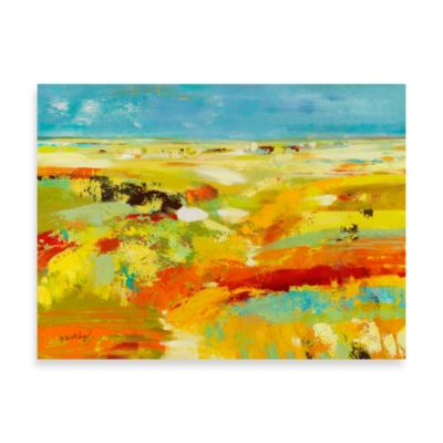 Fabrice de Villeneuve Studio Field of Dreams Printed Canvas Wall Art