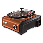 Crock-Pot® 3.5-Quart Oval Hook Up™ Connectable Entertaining System in Copper