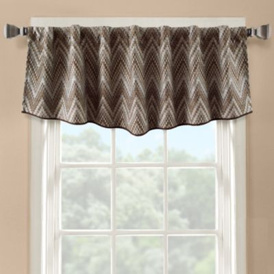 Flambe Modern Ascot Window Valance