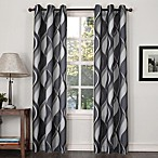 Swerve Print Grommet Window Curtain Panels