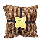 Chaucer Forest Chenille Self-Reversing 2-Pack Pillow