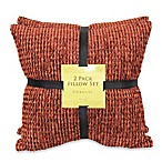 Chaucer Spice Chenille Self-Reversing 2-Pack Pillow