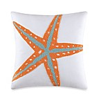 Tufted Starfish Toss Pillow