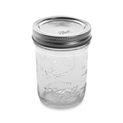 Ball® Regular Mouth 8-Ounce Canning Jars (Pack of 12)