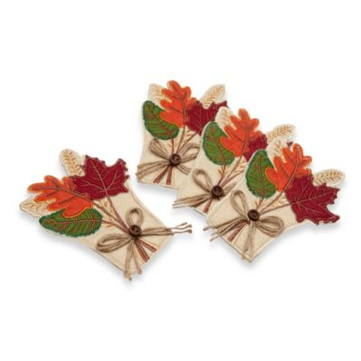 Utensil Holder Leaves (Set of 4)
