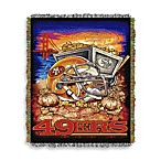 NFL San Francisco 49ers Tapestry Throw