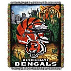 NFL Cincinnati Bengals Tapestry Throw