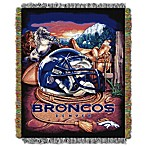 NFL Denver Broncos Tapestry Throw