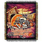 NFL Cleveland Browns Tapestry Throw