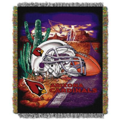 NFL Arizona Cardinals Tapestry Throw