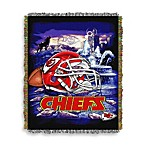 NFL Kansas City Chiefs Tapestry Throw